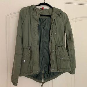 Divided Green Jacket